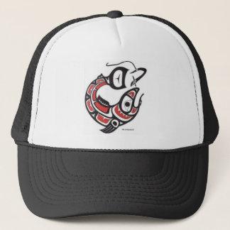 停止サケの低下-最初国家の帽子 キャップ