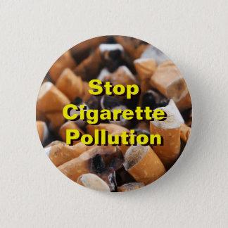 停止タバコの汚染! 5.7CM 丸型バッジ