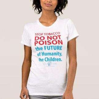 「停止タバコは毒しません未来の….Tシャツ Tシャツ