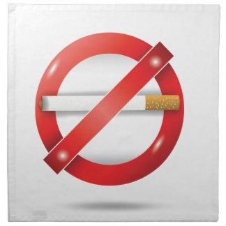 停止タバコ ナプキンクロス