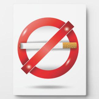 停止タバコ フォトプラーク