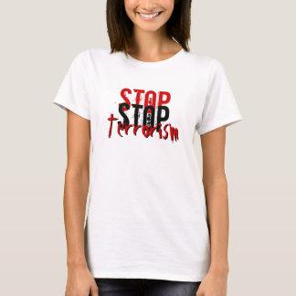 停止テロリズム Tシャツ