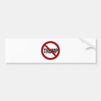 停止ドナルド・トランプのアンチ切札2016年 バンパーステッカー