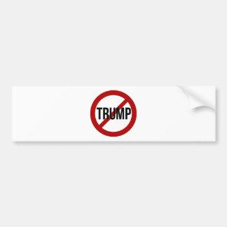 停止ドナルド・トランプのアンチ切札 バンパーステッカー