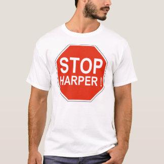 停止ハープ奏者のTシャツ Tシャツ