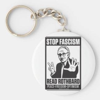 停止ファシズム キーホルダー