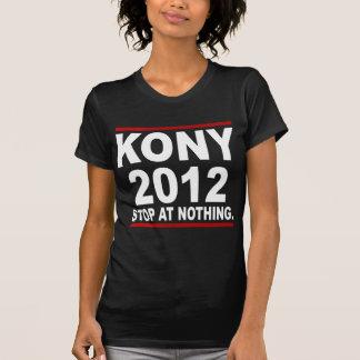 停止ヨセフKony 2012年の何もの政治の停止 Tシャツ