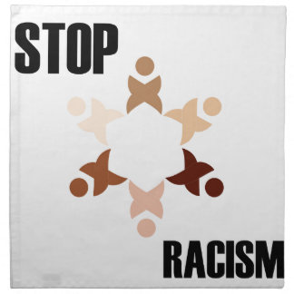 停止人種的優越感 ナプキンクロス