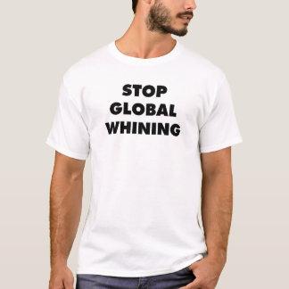 停止全体的なすすり泣くこと Tシャツ