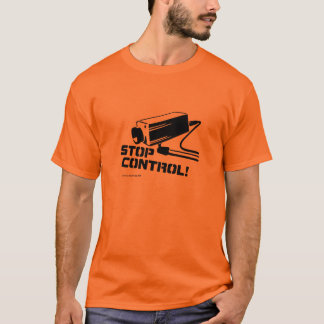 停止制御 Tシャツ