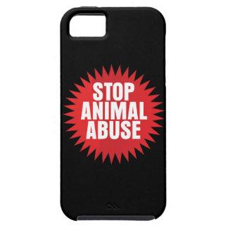 停止動物の乱用 iPhone SE/5/5s ケース