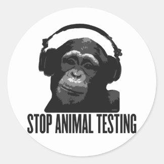 停止動物試験 ラウンドシール