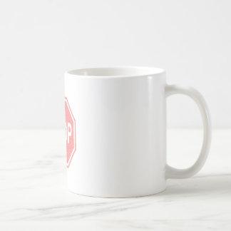 停止印はデザイン衰退しました コーヒーマグカップ