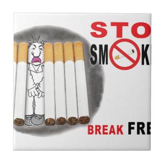 停止喫煙のメモ-これ以上のお尻 タイル
