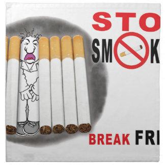 停止喫煙のメモ-これ以上のお尻 ナプキンクロス