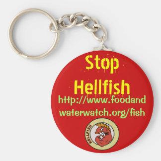停止地獄魚のkeychain キーホルダー
