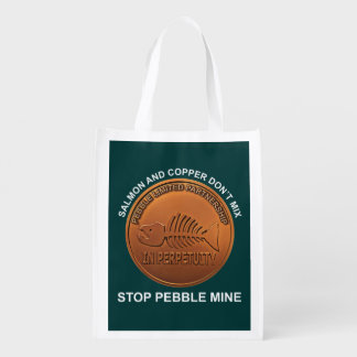 停止小石鉱山-小石鉱山のペニー エコバッグ