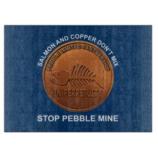 停止小石鉱山-小石鉱山のペニー カッティングボード