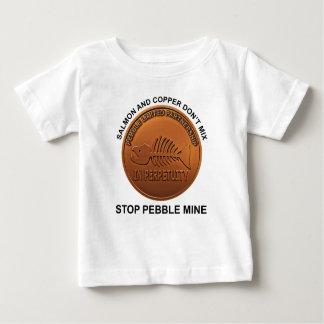 停止小石鉱山-小石鉱山のペニー ベビーTシャツ
