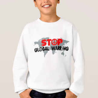 停止戦争平和印 スウェットシャツ