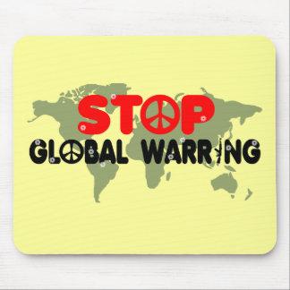 停止戦争平和印 マウスパッド