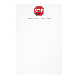 停止戦争 便箋
