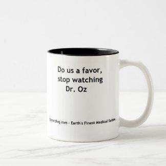 、停止監視先生Oz ツートーンマグカップ
