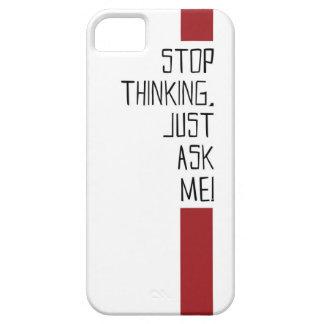 停止考えるなコレクション iPhone SE/5/5s ケース