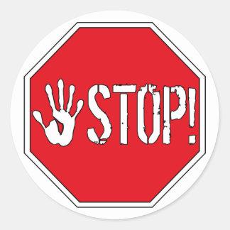 停止! ステッカー