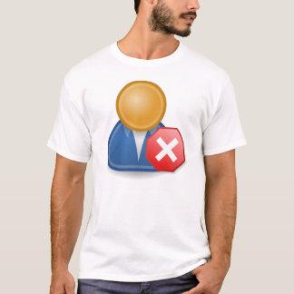 停止! ソフトウェア人 Tシャツ