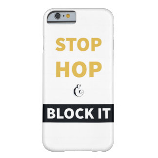 停止、ホツプは、それを電話箱妨げ BARELY THERE iPhone 6 ケース