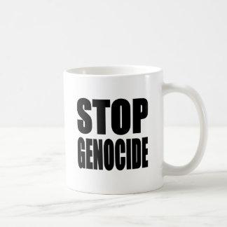 停止 集団虐殺 Spead メッセージ コーヒーマグ