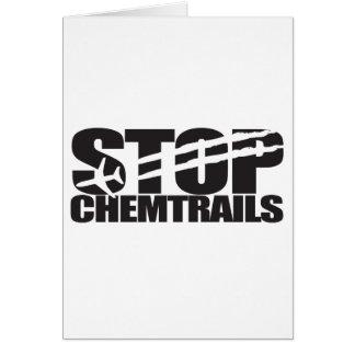 停止Chemtrails カード
