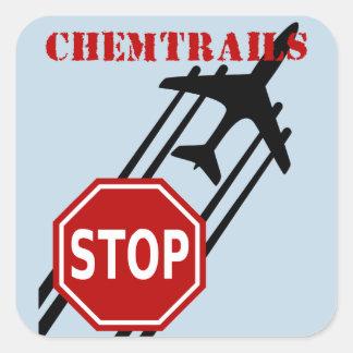 停止chemtrails スクエアシール