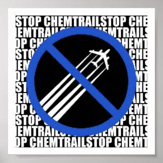 停止Chemtrails! ポスター