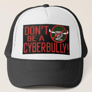 停止Cyberbullyingを押して下さい キャップ