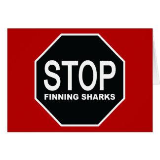 停止Finningの鮫の印 カード