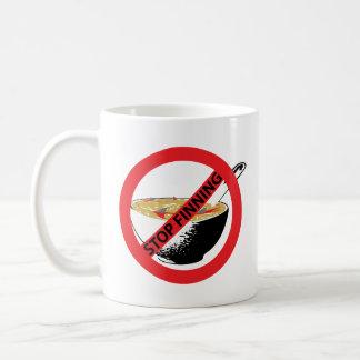 停止FINNING鮫 コーヒーマグカップ