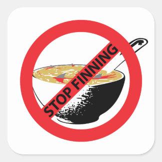 停止FINNING鮫 スクエアシール