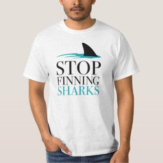 停止FINNING鮫 Tシャツ