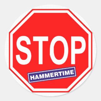 停止Hammertime ラウンドシール