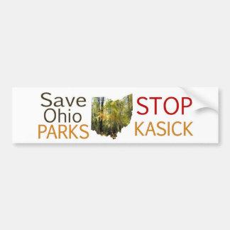 停止KaSICK公園 バンパーステッカー