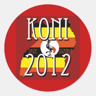 停止Kony 2012年 ラウンドシール