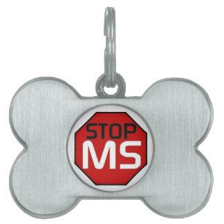 停止MS ペットネームタグ