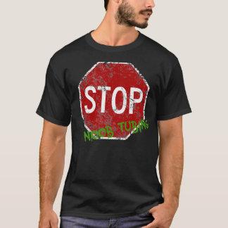 停止Noobの管 Tシャツ