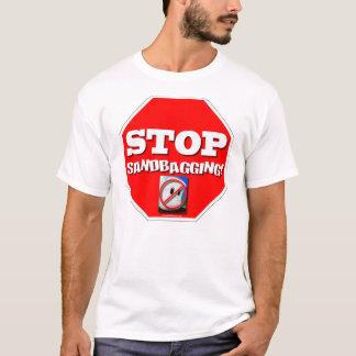 停止Sandbagging! Tシャツ