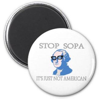 停止SOPAそれはどうしてもアメリカではないです マグネット