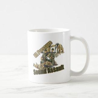 健全な攻撃のコピー コーヒーマグカップ