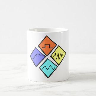 """""""健全な"""" edmのコップの波 コーヒーマグカップ"""