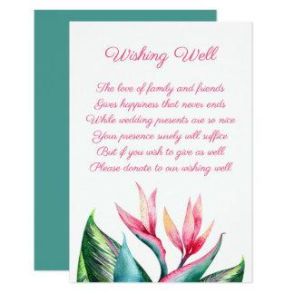 健康なカードを望んでいる結婚式極楽鳥 カード